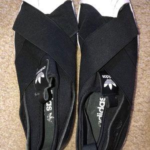 adidas Shoes - adidas original superstar slip ons!